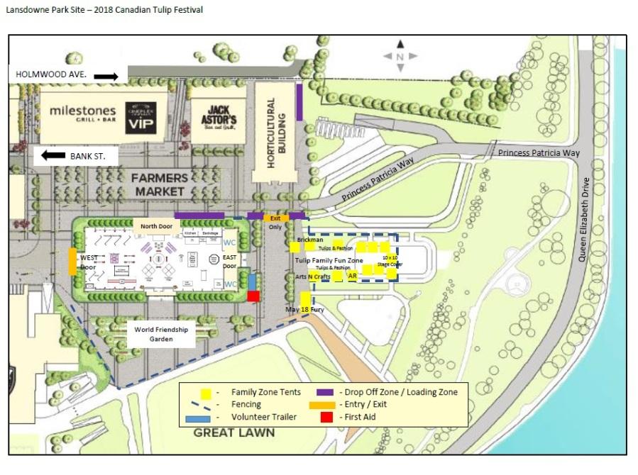 Lansdowne Park Site Map CTF 2018